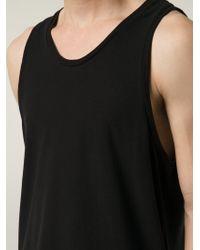 T By Alexander Wang - Black Scoop-Neck T-Shirt for Men - Lyst