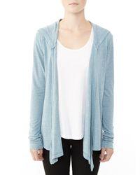 Alternative Apparel | Blue Warm Up Eco-jersey Wrap | Lyst