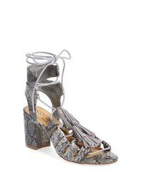Matisse - Gray 'copa' Sandal - Lyst