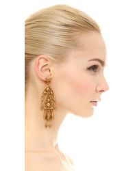 Ben-Amun | Metallic Dreamcatcher Chandelier Earrings | Lyst