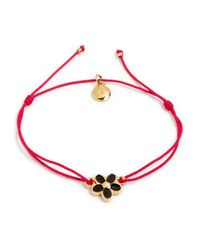Marc By Marc Jacobs - Red Enamel Daisy Friendship Bracelet - Lyst