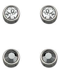 Swarovski | Metallic Harley Earring Set | Lyst