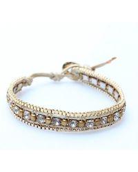 Nakamol | Metallic Kato Bracelet-gold | Lyst