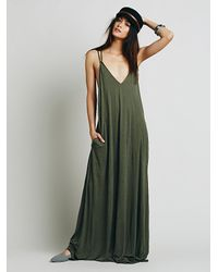 Free People | Green Fp Beach Womens Bright Lights Dress | Lyst