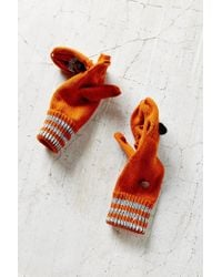 Urban Outfitters - Orange Kitsch Animal Convertible Glove - Lyst