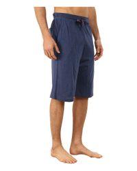 Tommy Bahama - Blue Heather Cotton Modal Jersey Knit Jam for Men - Lyst