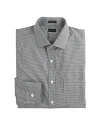 J.Crew - Black Ludlow Shirt In Microgingham for Men - Lyst