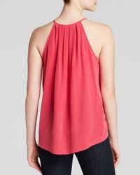 Joie - Red Top - Gethsemane Silk - Lyst