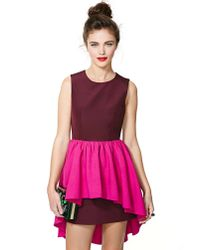 Nasty Gal | Pink Cameo Cathedral Dress | Lyst