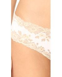 Cosabella - Natural Italia Low Rise Thong - Lyst