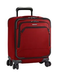 Briggs & Riley - Red 'transcend' Wheeled Commuter Bag for Men - Lyst