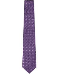 Eton of Sweden | Purple Kaleidoscope Pattern Silk Tie for Men | Lyst