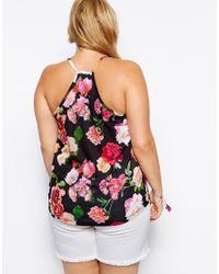 ASOS - Multicolor Exclusive Cami Top In Garden Rose Print - Lyst