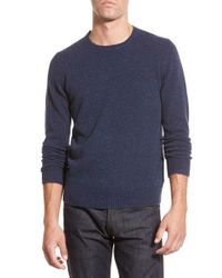 Bonobos | Blue Merino Wool Crewneck Sweater for Men | Lyst