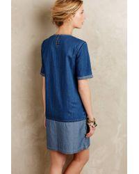 Conditions Apply   Blue Diamond Lane Tunic Dress   Lyst
