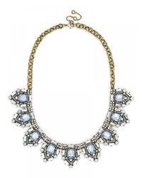 BaubleBar | Blue Aquamarine Cavalier Collar | Lyst