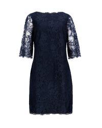 Ted Baker - Blue Laavia Wide Sleeve Lace Dress - Lyst