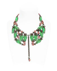 Vernissage Jewellery - Green Imperial Moths Necklace - Lyst