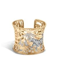 John Hardy | Metallic Legends Macan Heritage Limited Edition Cuff | Lyst
