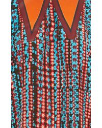 Sonia by Sonia Rykiel - Multicolor Fancy Flower Printed Crepe Top - Lyst