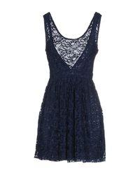 Motel Rocks - Blue Short Dress - Lyst