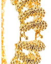 Balenciaga - Metallic Bubble Chain Bracelet - Lyst