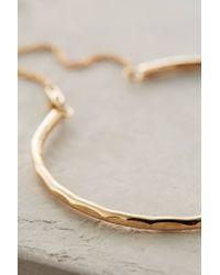Phyllis + Rosie | Metallic Chained Cuff Bracelet | Lyst