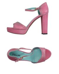 Studio Pollini - Purple Sandals - Lyst