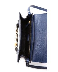 MILLY - Blue Thompson Cross Body Bag Navy - Lyst