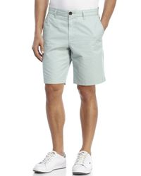 Original Penguin - Green Straight Fit Chino Shorts for Men - Lyst