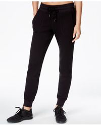 Betsey Johnson | Black Fleece Pants | Lyst