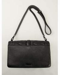 Rebecca Minkoff Love Quilted Cross Body In Black Lyst