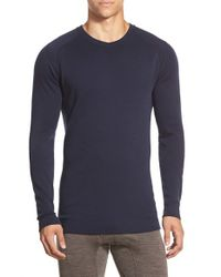 Smartwool | Blue Long Sleeve Thermal T-shirt for Men | Lyst