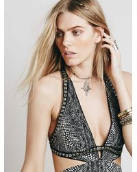 Free People | Metallic Isabel Choker | Lyst