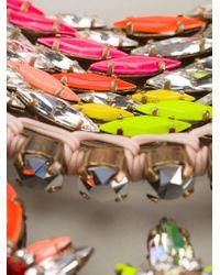 Shourouk - Multicolor 'river' Necklace - Lyst
