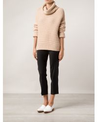 Brunello Cucinelli - Black Cropped Trousers - Lyst
