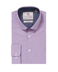 Skopes | Purple Contemporary Collection Formal Shirt for Men | Lyst
