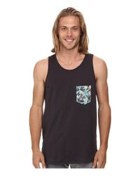 Rip Curl | Black Glasser Custom Tank Top for Men | Lyst