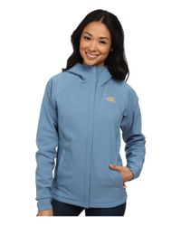 The North Face | Blue Maddie Raschel Hoodie | Lyst