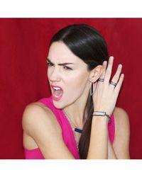 Adornia | Metallic Moonstone And Champagne Diamond Picasso Bracelet | Lyst