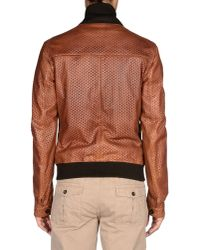 Dolce & Gabbana - Brown Jacket for Men - Lyst