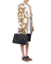 Vivienne Westwood Anglomania - White Square Bib Shirt - Lyst