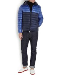 56878f909f7d Moncler Emeric Navy Quilted Jacket in Blue for Men - Lyst