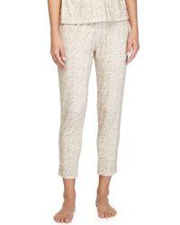Eberjey - Natural Floral Garland Lounge Pants - Lyst
