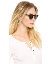 Garrett Leight | Black Lincoln Sunglasses | Lyst