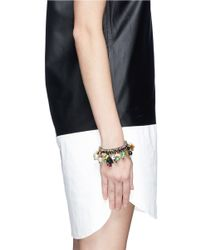 Venessa Arizaga - Multicolor 'the Jungle' Bracelet - Lyst