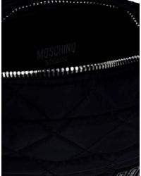 Moschino - Black Fanny Pack - Lyst