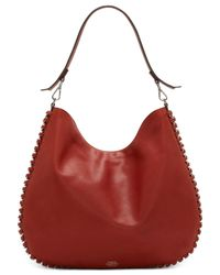 Vince Camuto | Brown Inez Hobo | Lyst
