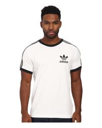 Adidas Originals | White Sport Essentials Tee for Men | Lyst