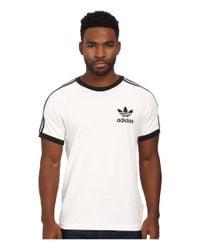 Adidas Originals - White Sport Essentials Tee for Men - Lyst